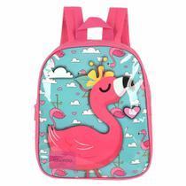 Mochila infantil up4you flamingo pink is33812up / un / luxcel -