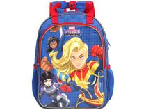 Mochila Infatil Escolar Feminina Tam. G DMW - Marvel Rising Secret Warriors