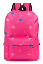 Mochila It!s Umbrella Pink - Travel max