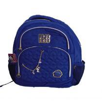 ef169e366 Mochila juvenil cupcake azul rebecca bonbon - rb9341 - clio style