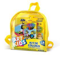 Mochila Kit para Colorir - Art Kids - Acrilex -