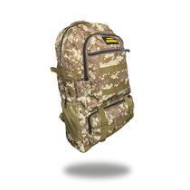 Mochila Lona Reforçada 50l Ideal Viagem camping trip viagem reforçada militar camuflado ou preto - Clock