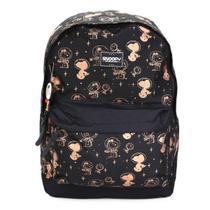 Mochila Luxcel Snoopy com Porta Notebook -