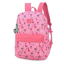 Mochila Luxcel Up4you Pink Lhama