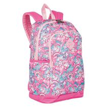 Mochila Magic Unicórnio Feminina Escolar Rosa - Sestini