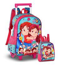 Mochila Maria Clara E Jp Infantil Lancheira Escolar - Clio