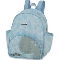 Mochila Maternidade Hug Meus Dinos Azul B8200 -