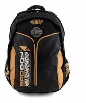 Mochila Notebook Laptop Escolar Costas Menino Bad Boy Tam G