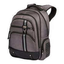Mochila Notebook Logan 2 Compartimento Cinza Sestini -