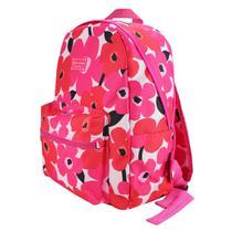 Mochila Papoula Jacki Design pink escolar volta as aulas -