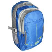 Mochila Para Notebook 16 Polegadas Bolsa Universitária Azul - Idea