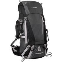 Mochila para Trekking 60 Litros Preta Guepardo Elbrus MB6002 -