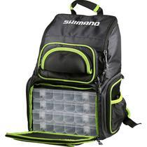 Mochila Pesca Shimano Back Pack XL LUG1806 C/4 Estojos -