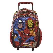 Mochila Rodinha Avengers Vingadores Marvel 6310 Xeryus -