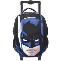 Mochila Rodinha Infantil Grande Batman Glare - Xeryus -
