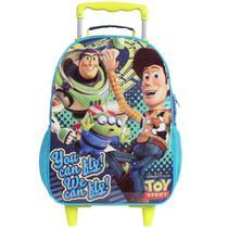 Mochila Rodinhas Dermiwil Toy Story Easy Azul/Verde - 52180 -