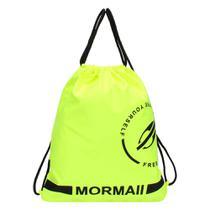 Mochila saco nylon Mormaii AMARELO -