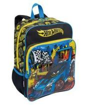 Mochila  Sestini G C/ Bolso Hot Wheels 16m Plus