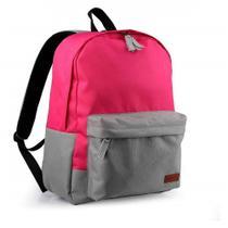 Mochila Student para Notebook até 15,6 Polegadas Rosa Multilaser - BO396 -