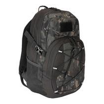 Mochila Tática BR Force Paisana Multicam Black 28L com Espaço para Notebook -