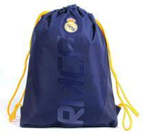 440bfe0de Mochila tipo Saco Esportivo Real Madrid Produto Oficial Dmw - Mochila dmw