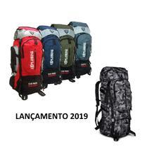 Mochila Trilha Camping 70l Litros Impermeavel Cargueira Clio - Clio Style