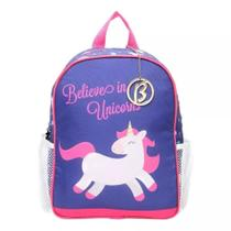 Mochila Unicórnio Larissa Manoela Belives in Unicorns