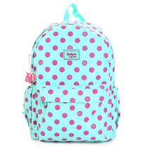 Mochila Up4you By Maisa Grande 3 Bolsos Verde/Pink - MS45585UP
