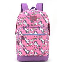 Mochila Up4you collection Unicórnio  MS45578UP Pink - Luxcel
