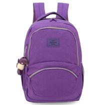 Mochila Up4You Crinkle Porta Laptop Roxo - Luxcel