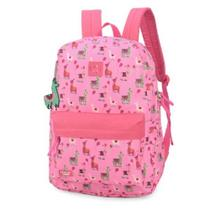 Mochila up4you lhama pink - luxcel ms45700up-pk