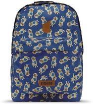Mochila Usthemp Vegano Casual Estampa Bowie Golden Retriever -