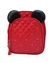 Mochila Vermelha Orelhas Mickey - Mickey  Minnie