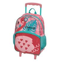 Mochilete Escolar Flamingo 948M01  Pacific - Tendtudo