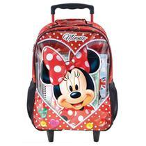 Mochilete Escolar Minnie Mouse Love 8911  Xeryus - Tendtudo