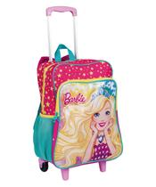 Mochilete Grande com Bolso 2 em 1 Barbie 19M Plus - Sestini