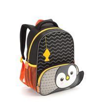Mochilinha Infantil Zoop Kid Tamanho Pequena Pinguim Fofa - Seanite