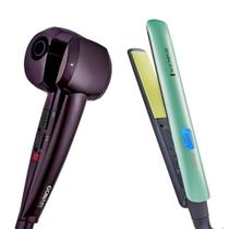Modelador De Cachos Hair Styler Conair + Prancha Shine Therapy 2x Remington - Polishop