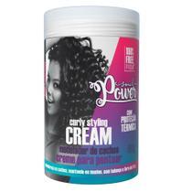 Modelador de Cachos Soul Power - Curly Styling Cream -