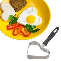 Modelador Forma De Ovo Frito Para Lanches Coração Em Inox - Ki Util