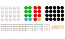Modelo Molecular Introdutório com 122 peças - Sdorf