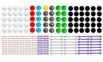 Modelo Molecular Orgânico e Inorgânico 426 peças - Sdorf