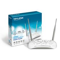 Modem Roteador Wireless 300mbps 2 Antenas TD-W8961ND TP LINK - Tp-link