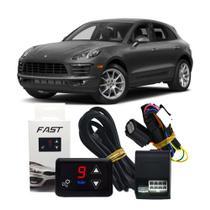 Módulo Aceleração Porsche Macan 2014 a 2019 Tury Fast 1.0H Acelerador Eletrônico Sprint Booster Potência Alta Perfomance -