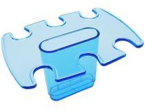 Modulo adicional porta carimbo 6 lug. azul clear 807.2 - Acrimet