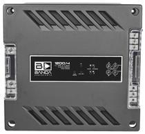 Módulo Amplificador Banda 1200.4 1200W Rms 2 Ohms 4 Canais -