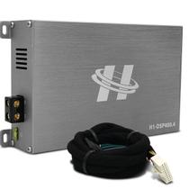 Módulo Amplificador Hurricane H1-DSP400.4 400W RMS 4 Canais 4 Ohms + Chicote Plug and Play Ford -