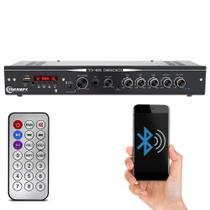 Módulo Amplificador Receiver Taramps THS 3600 120W RMS 2 Canais 4 Ohms Bluetooth 3 Vias P2 P10 RCA -
