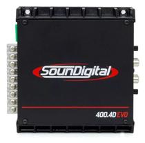 Modulo Amplificador Soundigital Sd-400.4 400w Rms Original -