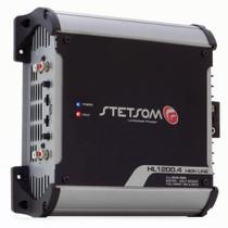 Módulo Amplificador Stetsom High Line HL 1200.4 1200W RMS 1 Ohm 4 Canais Digital -